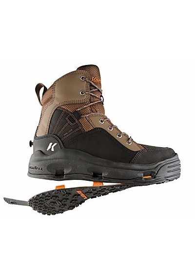 Korkers Buckskin Wading Boots For Men Felt Kling On