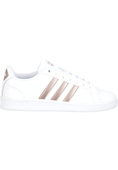 adidas women's cloudfoam advantage stripe shoes