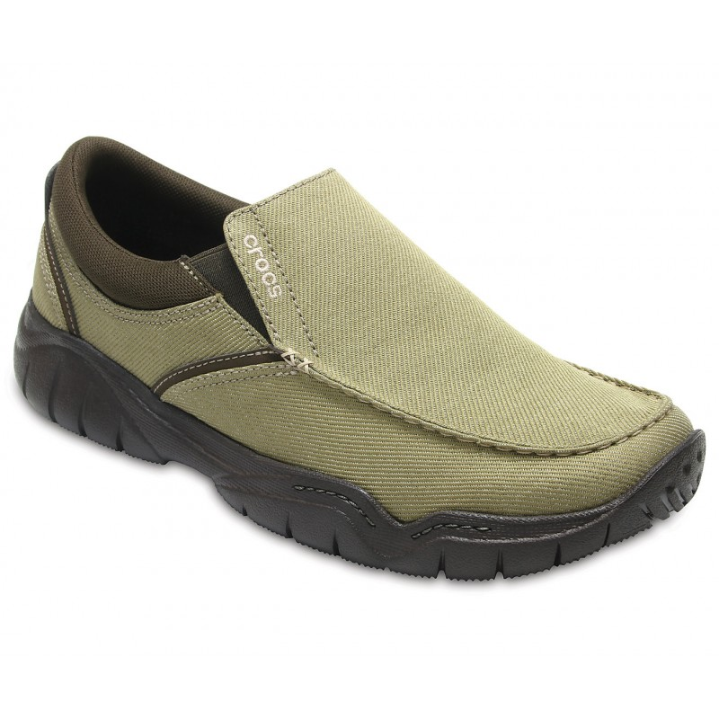 8af91c4f9bdab ... Men's Swiftwater Casual Slip-On - Khaki / Espresso ...