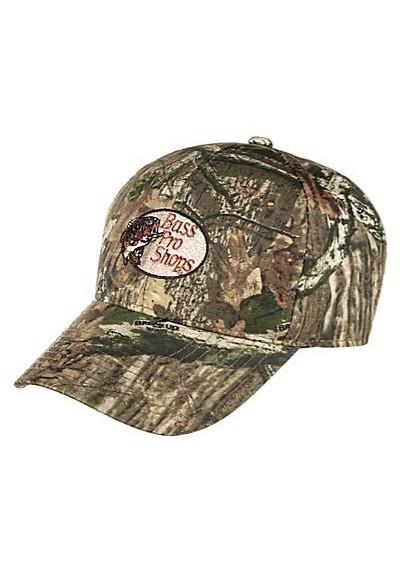 b66ca95862d53 Bass Pro Shops Silent-Hide Camo Hunting Cap with RedHead Logo - Santoutdoor