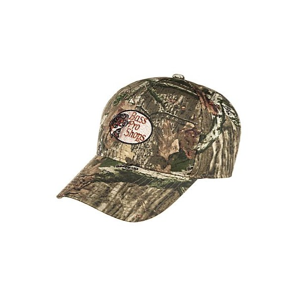 64acc54f04c66 Bass Pro Shops Silent-Hide Camo Hunting Cap with RedHead Logo - Santoutdoor