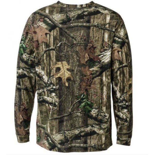 RedHead True Fit Camo Long Sleeve T-Shirts for Men ...
