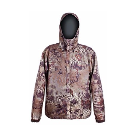 Grundens Gage Weather Watch Camo Hooded Rain Jacket for Men ...