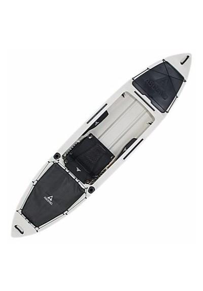Ascend H12 Sit In Hybrid Kayak White Black Santoutdoor